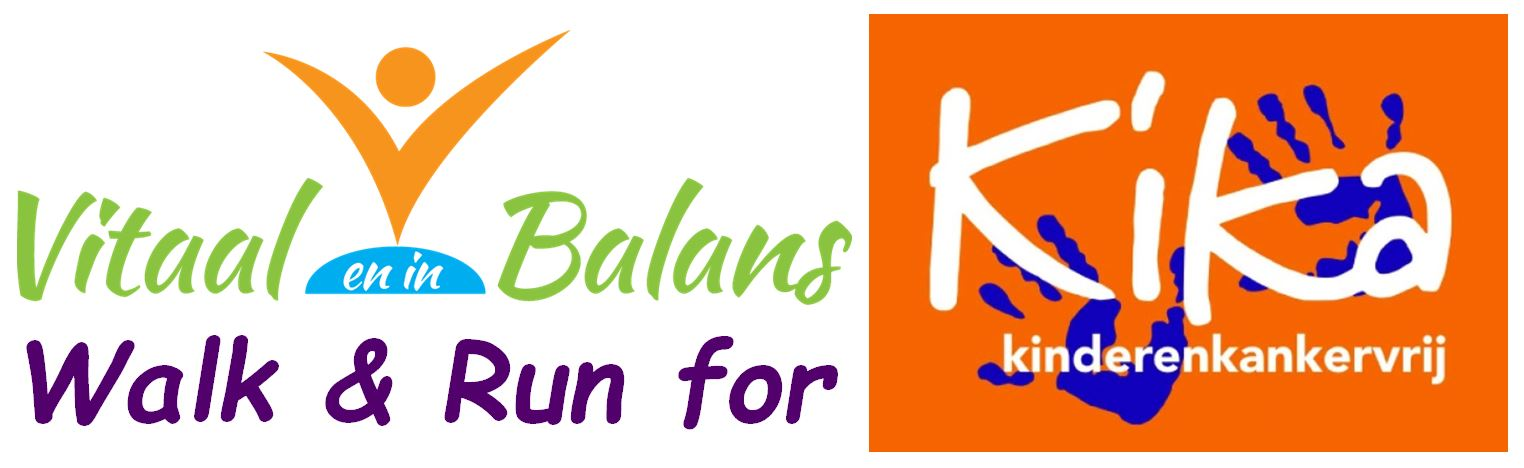 Logo Walk en Run for KiKa-G2